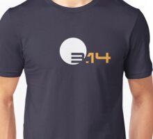 Simple 3.14 Pi Unisex T-Shirt