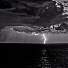 Lightning on the Adriatic by JMChown