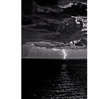 Lightning on the Adriatic Photographic Print