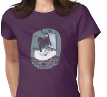 Hover Cat Khoshekh Womens Fitted T-Shirt