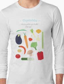 Vegetables Long Sleeve T-Shirt
