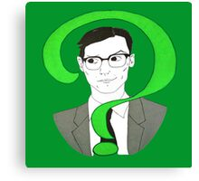 Edward Nygma Riddler Canvas Print