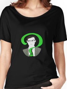 Edward Nygma Riddler Women's Relaxed Fit T-Shirt