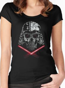 Dead Skull Women's Fitted Scoop T-Shirt