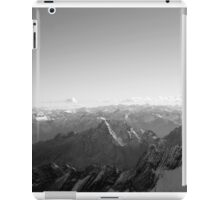 Mountain germany europe black and white photo iPad Case/Skin
