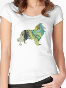 Collie Women's Fitted Scoop T-Shirt