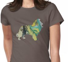 Collie Womens Fitted T-Shirt