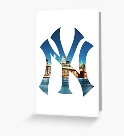 New York Bridge Greeting Card