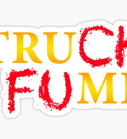 The Original Truck Fump Sticker