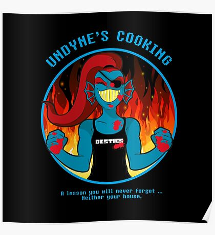 Undyne's Cooking Poster