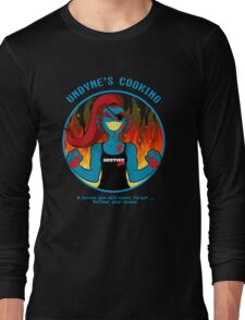 Undyne's Cooking Long Sleeve T-Shirt
