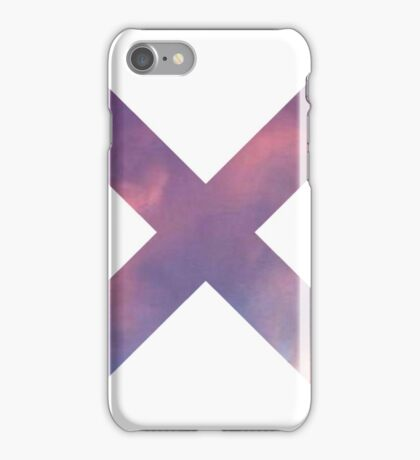 Purple Cloud Sky X (Multiply) iPhone Case/Skin