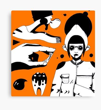 Bubblegun Canvas Print