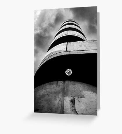 a white tower Greeting Card