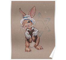 Hanukkah Harry the Rabbit Poster