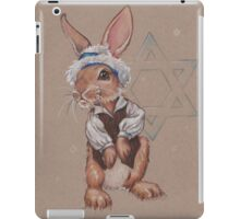 Hanukkah Harry the Rabbit iPad Case/Skin