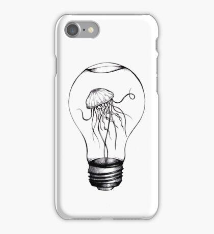 Jellyfish X Lightbulb iPhone Case/Skin