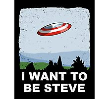 I Want To Be Steve Photographic Print