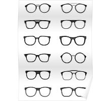 Stylish sunglasses Poster