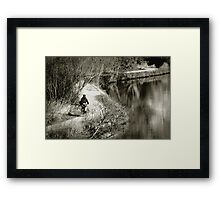The Long and Winding Path Framed Print