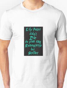 Lily Potter-Sea Green Unisex T-Shirt