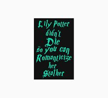 Lily Potter-Sea Green Men's Baseball ¾ T-Shirt