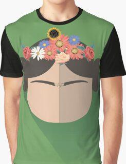 Princess Leia Kahlo Graphic T-Shirt
