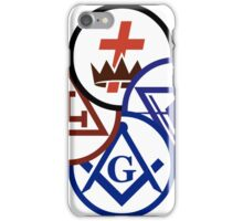 Masonic Signs iPhone Case/Skin