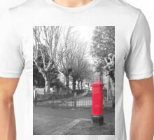 Red Post Box, Walthamstow Village, East London T-Shirt
