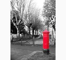 Red Post Box, Walthamstow Village, East London Unisex T-Shirt