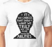 Harry Potter choices quote Unisex T-Shirt