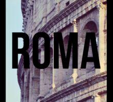 Rome Colosseum Photography Great Wanderlust Sticker