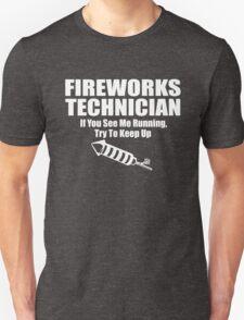 Fireworks Technician Unisex T-Shirt