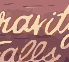Gravity Falls: Now Leaving Sticker