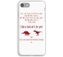 curse your sudden but inevitable betrayal, firefly, red iPhone Case/Skin