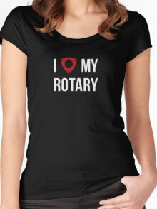 I love my Rotary Women's Fitted Scoop T-Shirt