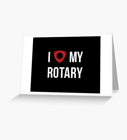 I love my Rotary Greeting Card