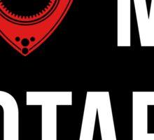 I love my Rotary Sticker