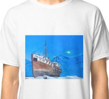 Frozen Fishing Trolley Classic T-Shirt