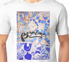 Barcelona Spain Gaudí Pattern Photography Unisex T-Shirt