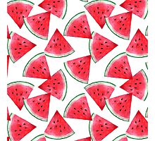 Juicy watermelon Photographic Print