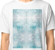 Original Watercolor Painting - Winter in Space Classic T-Shirt