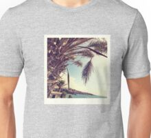 At the cliffs - three Unisex T-Shirt