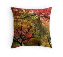 Autumnal Acers Throw Pillow