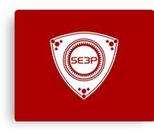 SE3P Rotary design Canvas Print