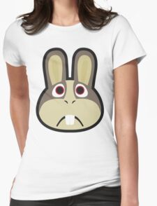 PEPPY HARE ANIMAL CROSSING Womens Fitted T-Shirt
