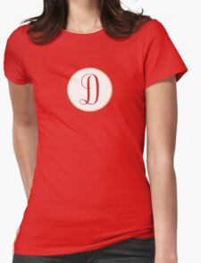 D Gentle Womens Fitted T-Shirt