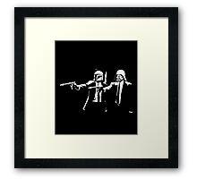Pulp Wars Framed Print
