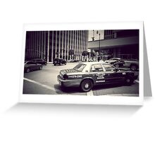 Beverly Hills - Taxi - Wilshire Boulevard Intersection Greeting Card