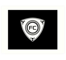 FC Rotary design Art Print